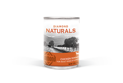 Diamond Naturals Chicken Dinner Can